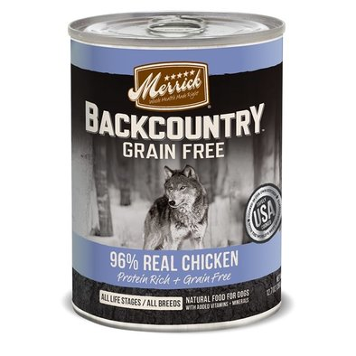 Backcountry 96% Real Chicken Recipe - 12.7 oz
