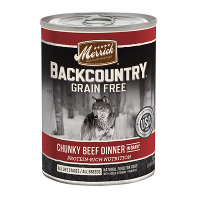 Backcountry Chunky Beef - 12.7oz