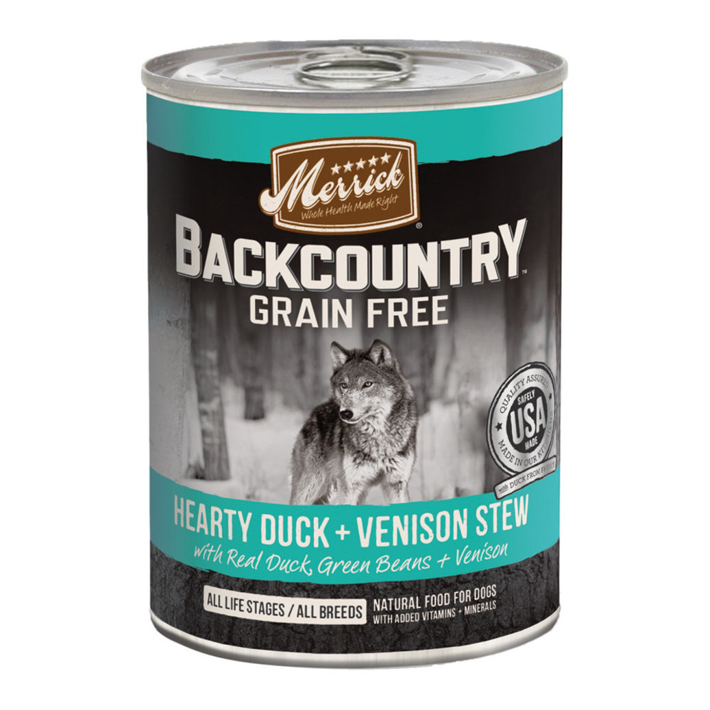 View larger image of Backcountry Hearty Duck & Venison Stew - 12.7 oz