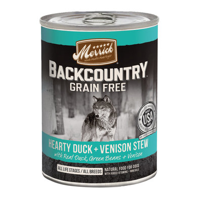 Backcountry Hearty Duck & Venison Stew - 12.7 oz
