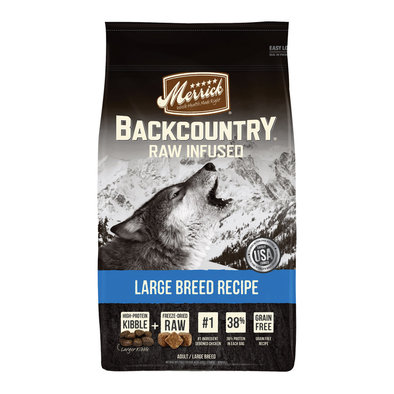 Backcountry Large Breed Recipe