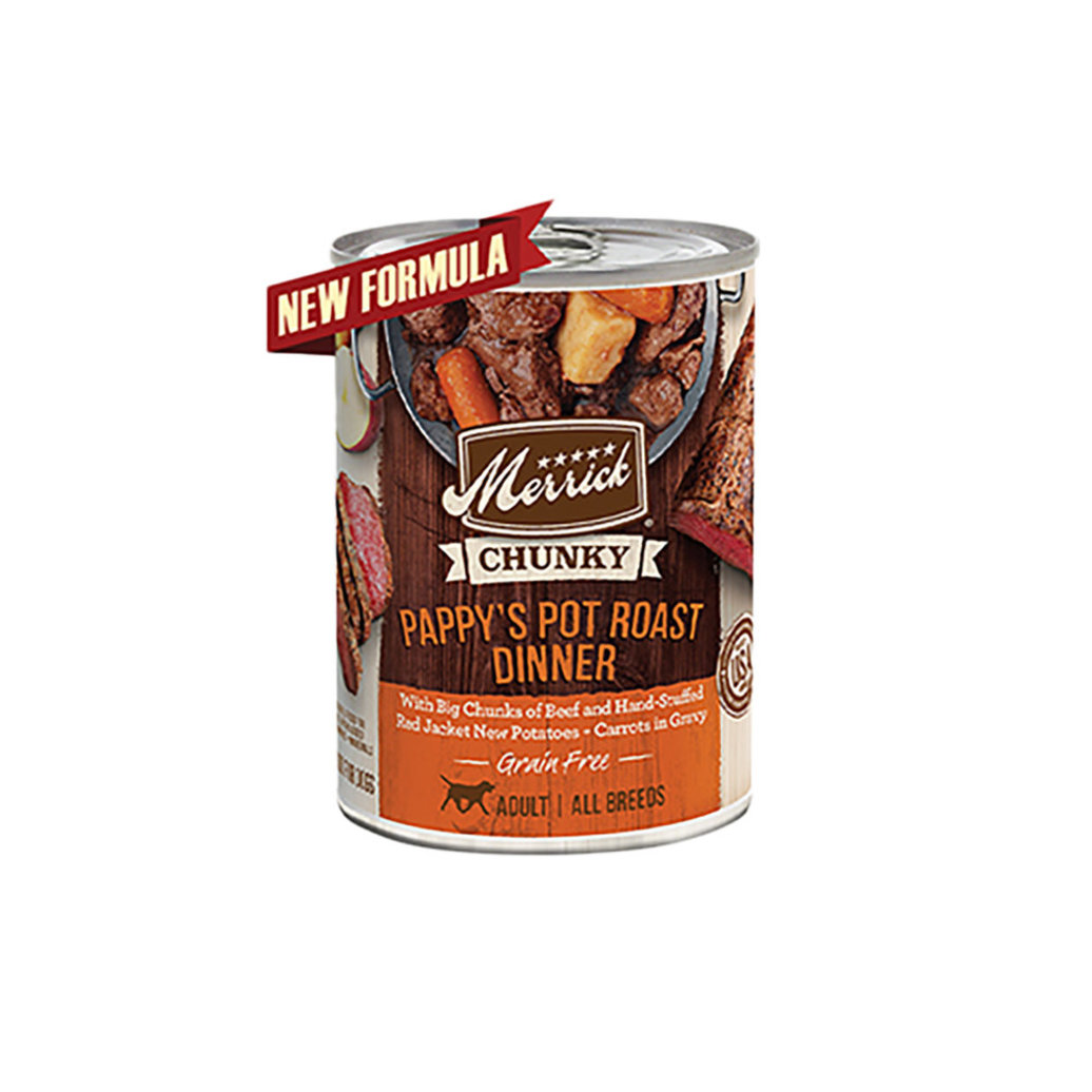 View larger image of Can, Adult  GF Chunky Pappy's Pot Roast - 360 g