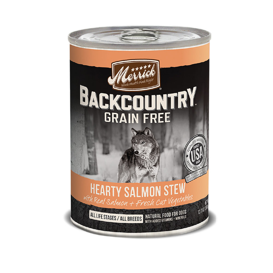 View larger image of Can, Backcountry Hearty Rabbit & Salmon Stew - 360g