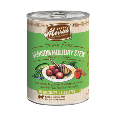 Can, Venison Holiday Stew - 360g
