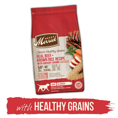 Classic Real Beef + Brown Rice Recipe - with Ancient Grains