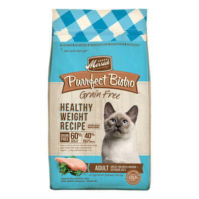 Merrick, Feline, Purrfect Bistro - Healthy Weight