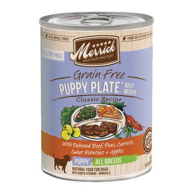 GF Puppy Plate Beef Recipe - 13.2 oz