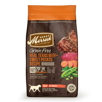 Grain Free Dry Dog Food, Texas Beef & Sweet Potato