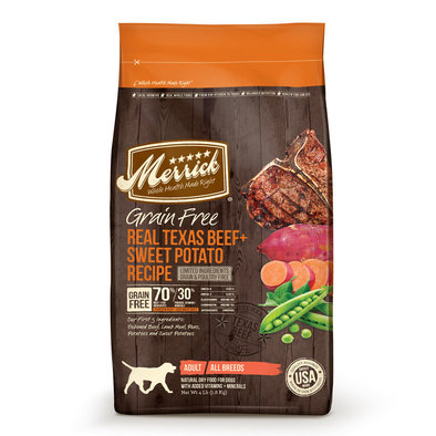 Gluten Free Dry Dog Food, Texas Beef & Sweet Potato