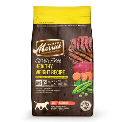 Grain Free, Dog Healthy Weight