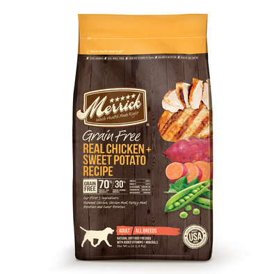 Grain Free Dry Dog Food, Chicken - 12 lb