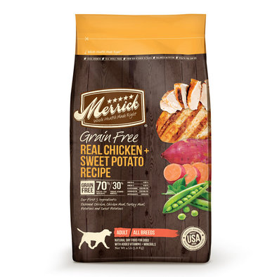 Grain Free Dry Dog Food, Chicken & Sweet Potato