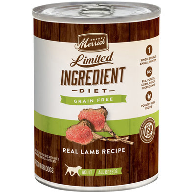 Limited Ingredient Diet Real Lamb Recipe - 12.7 oz