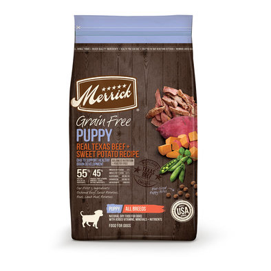 Puppy - Grain Free Beef & Sweet Potato
