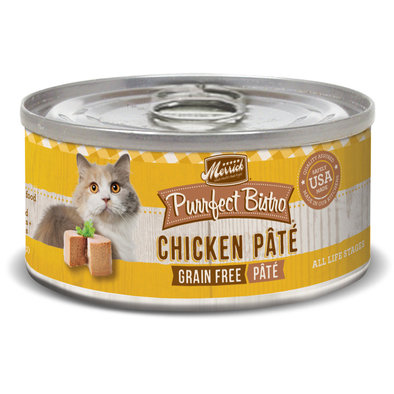 Purrfect Bistro Cat Can, Chicken Pate