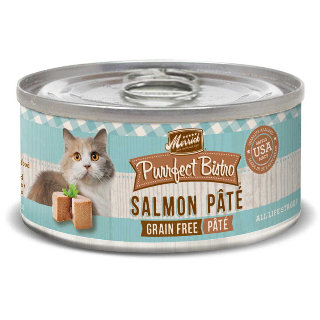 View larger image of Purrfect Bistro Cat Can, Salmon Pate