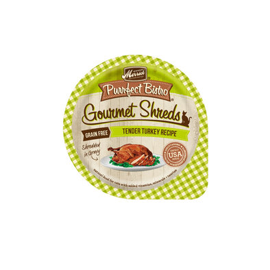 Purrfect Bistro, Gourmet Shreds Turkey - 3.5 oz