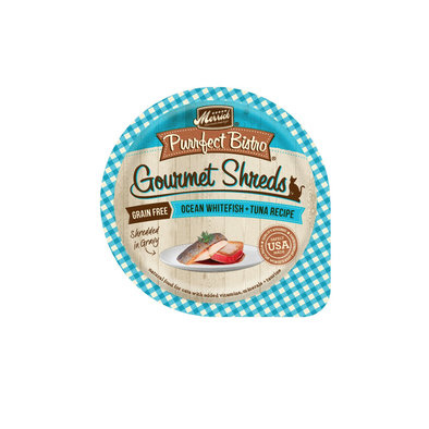 Purrfect Bistro, Gourmet Shreds Whitefish - 3.5 oz