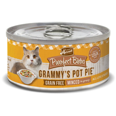 Purrfect Bistro Grain Free Cat Can, Grammy's Pot Pie