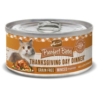 Purrfect Bistro Grain Free Cat Can, Thanksgiving Day Dinner