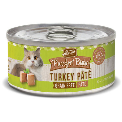 Purrfect Bistro Grain Free Cat Can, Turkey Pate