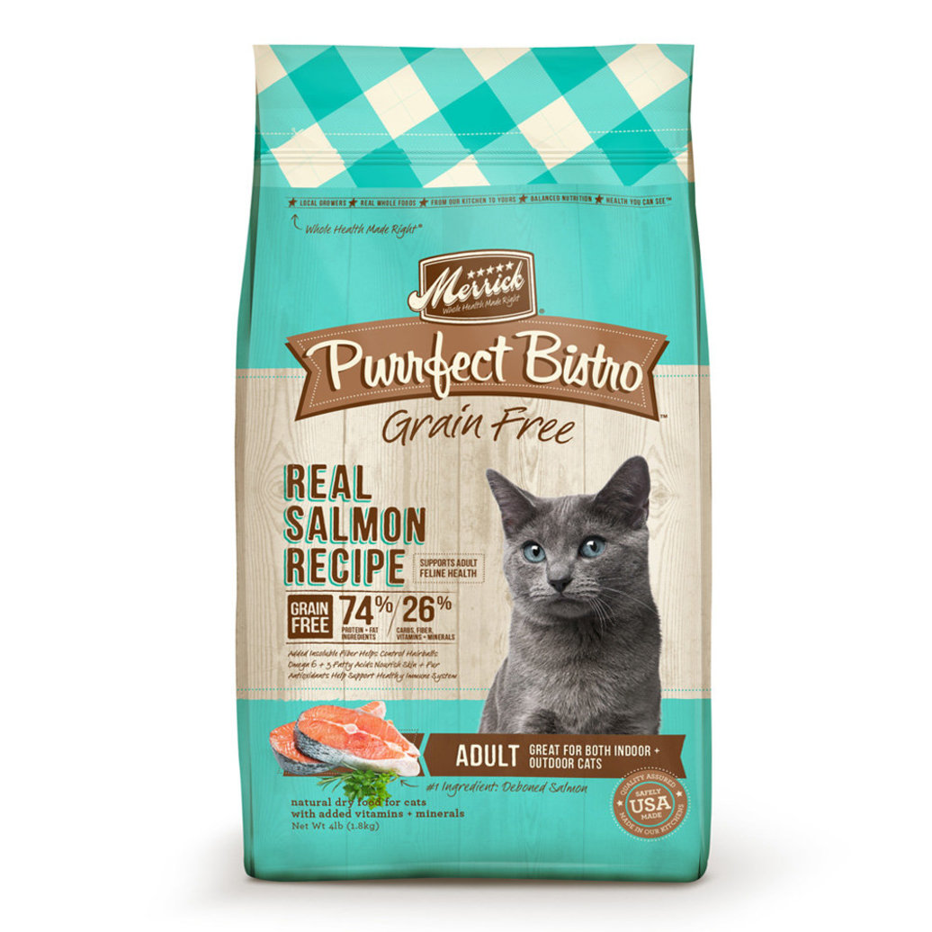 View larger image of Purrfect Bistro Grain Free Dry Cat Food, Salmon