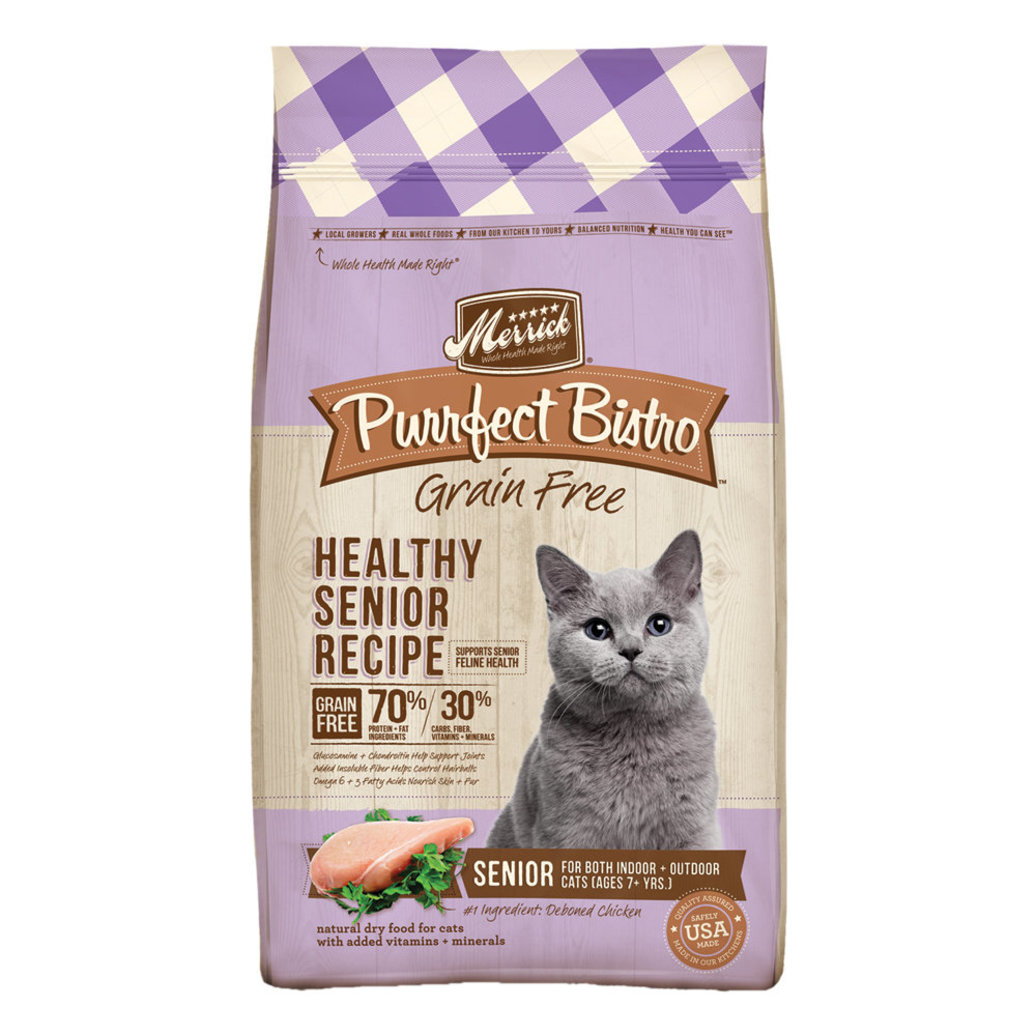 View larger image of Purrfect Bistro Healthy Senior Recipe - 7 lb