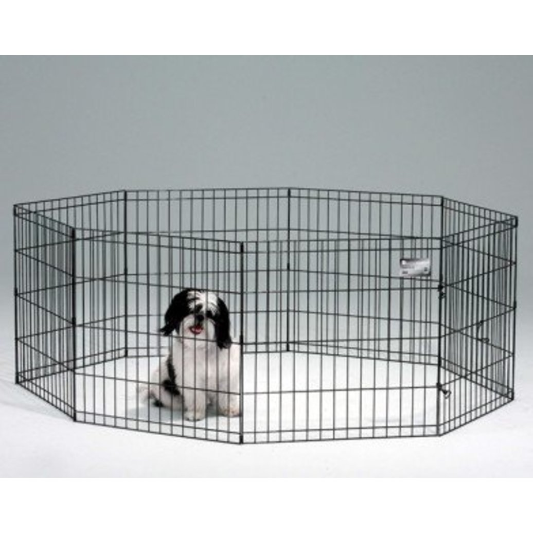 View larger image of Life Stages, Exercise Pen with MAXLock Door - Black