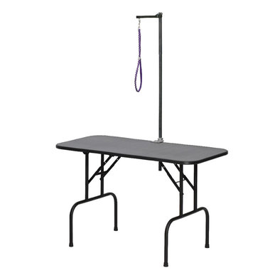 """Plywood Grooming Table with Arm - 48"""""""