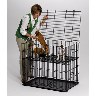 Puppy Pen with Floor Grid