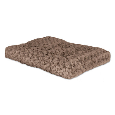 Quiet Time Delux Bed, Ombre Swirl Fur - Taupe