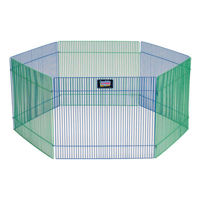 Small Animal Pen, for Hamsters, Gerbils, Guinea Pigs - 15x19""