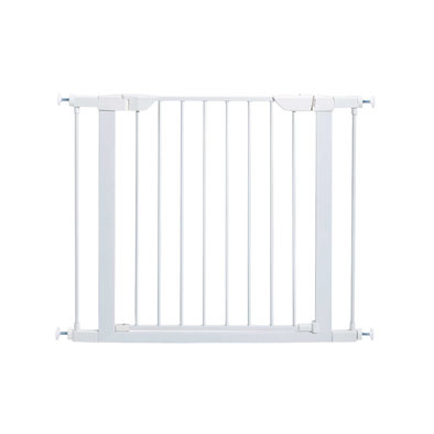 Steel Gate - White - 29""