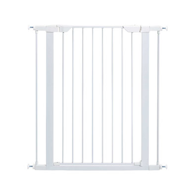 Steel Gate - White - 39""