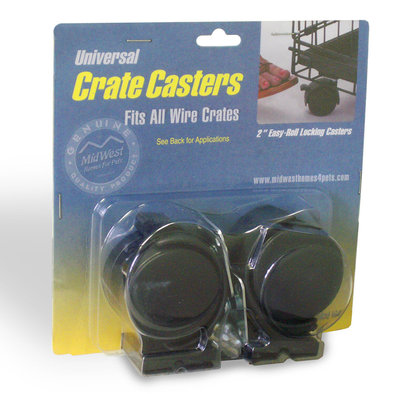 Universal Crate Casters - 2 Pk