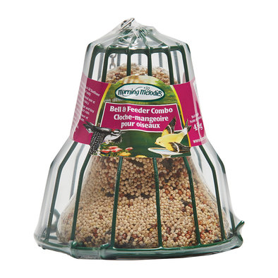 Wild Bird, Bell and Feeder combo