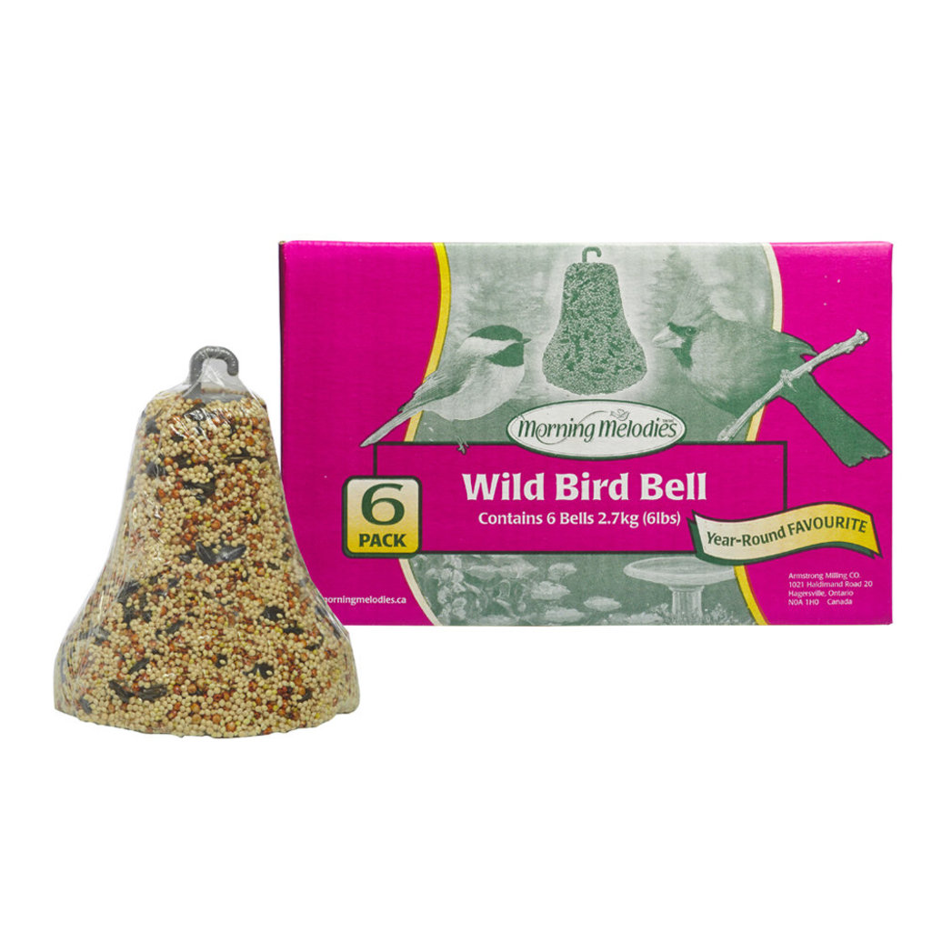 View larger image of Wild Bird Bells - 6 pk