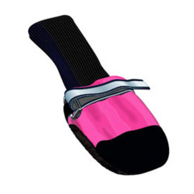 Fleece Lined Dog Boots - Pink