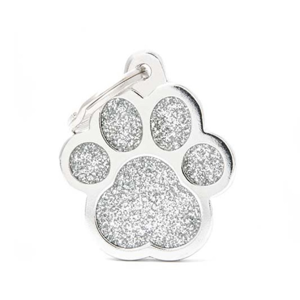 View larger image of Glitter Paw - Grey - Big