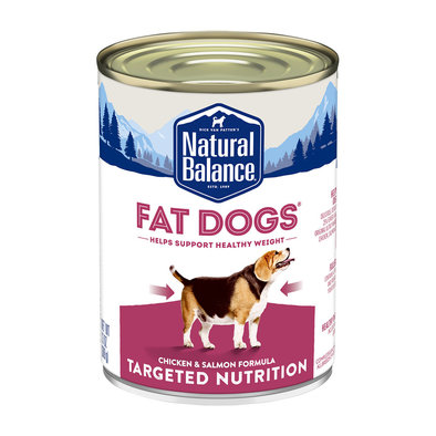 Can, Adult - Fat Dog - Chicken & Salmon - 368 g