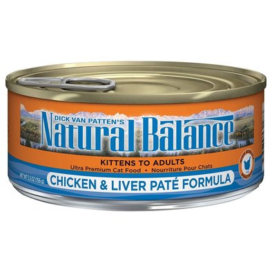 Cat Can Chicken & Liver Pate  - 5.5 oz