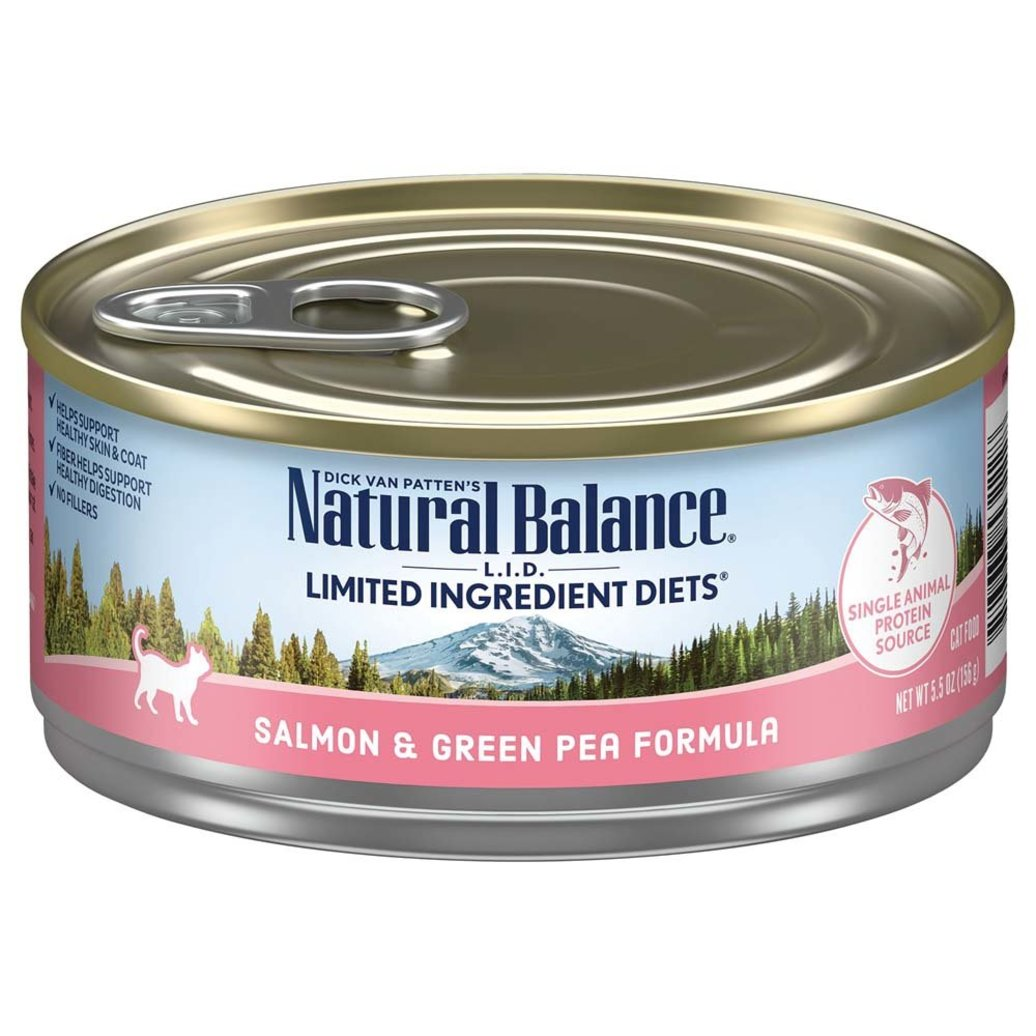 View larger image of Cat Can L.I.D. Salmon & Green Pea  - 5.5 oz