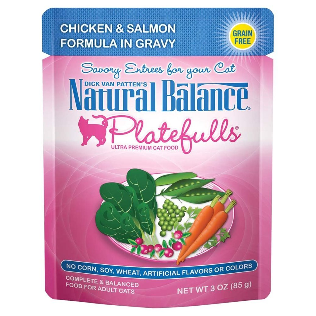 View larger image of Feline Adult Platefulls - Chicken & Salmon - 85 g