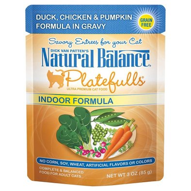 Feline Adult Platefulls - Duck, Chicken & Pumpkin - 85 g