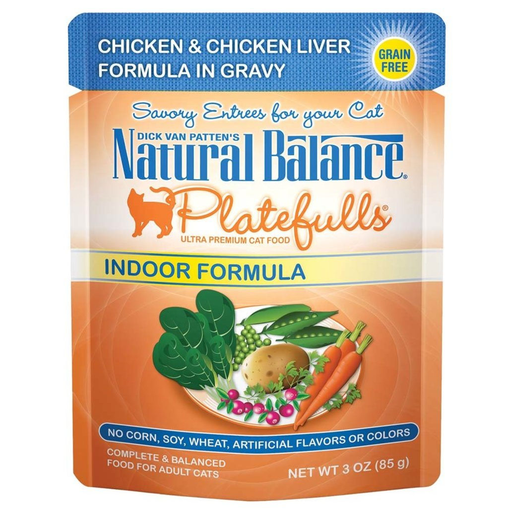 View larger image of Feline Adult Platefulls Indoor- Chicken & Chicken Liver - 85 g