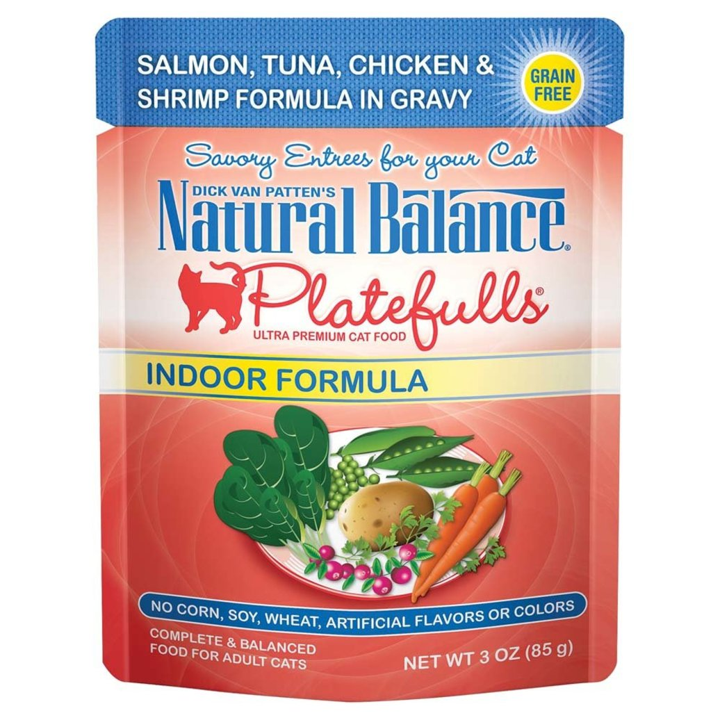 View larger image of Feline Adult Platefulls Indoor - Salmon, Tuna, Chicken & Shrimp - 85 g