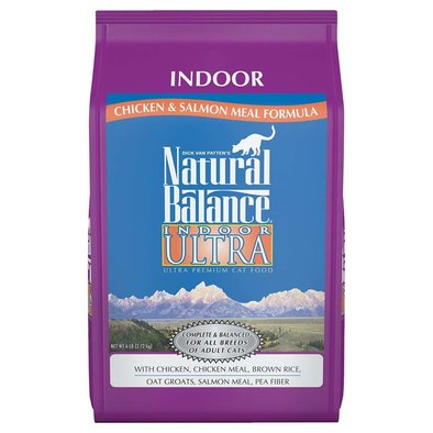 Indoor Ultra Premium Indoor Dry Cat Formula, Chicken Meal & Salmon Meal