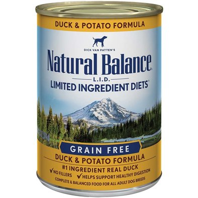 Limited Ingredient Canned Dog Formula, Duck & Potato - 369 g