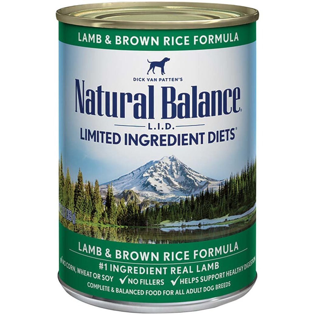 View larger image of Limited Ingredient Canned Dog Formula, Lamb & Brown Rice - 369 g