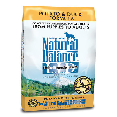 Limited Ingredient Diets, Grain-Free, Potato & Duck Dog Food